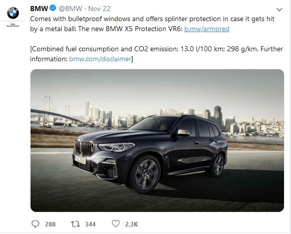 BMW Tesla Cybertruck