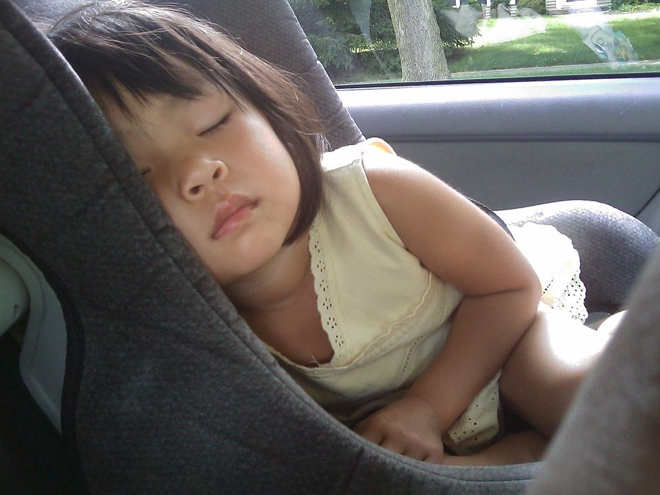 copilul în mașină