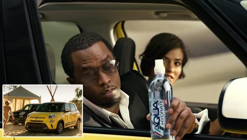 Puff Daddy a apărut într-o serie de reclame pentru mașinile Fiat
