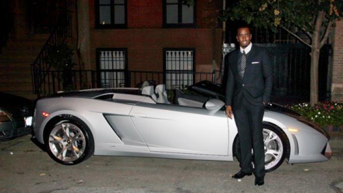 Puff Daddy deține un Lamborghini Gallardo Spyder de 300.000 de dolari