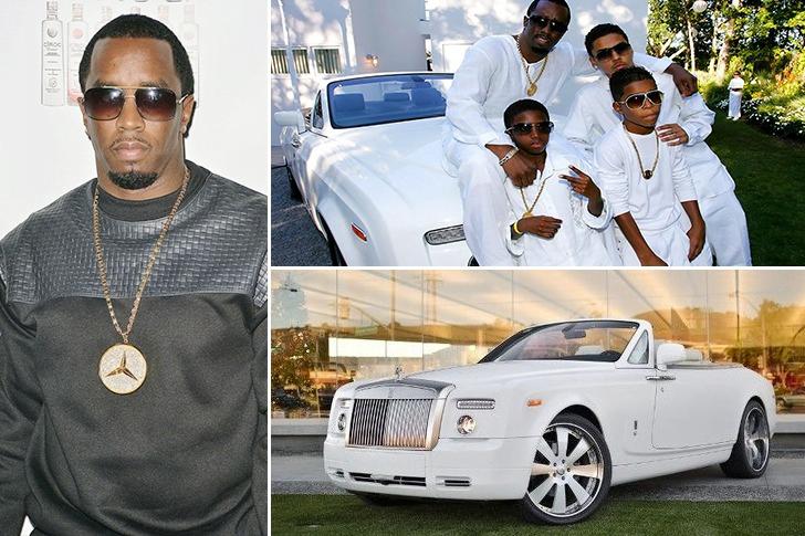 Puff Daddy deține un Rolls Royce Phantom Drophead Coupe de 500.000 de dolari