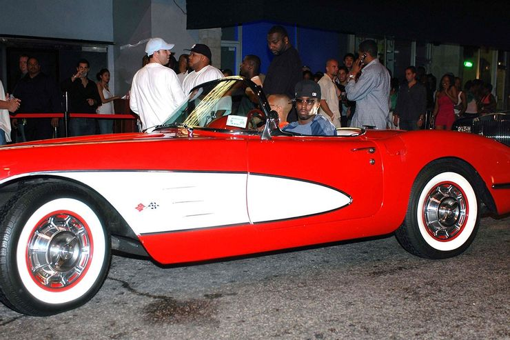 Corvette-ul din  1958 este una dintre cele mai prețioase mașini din colecția lui Puff Daddy