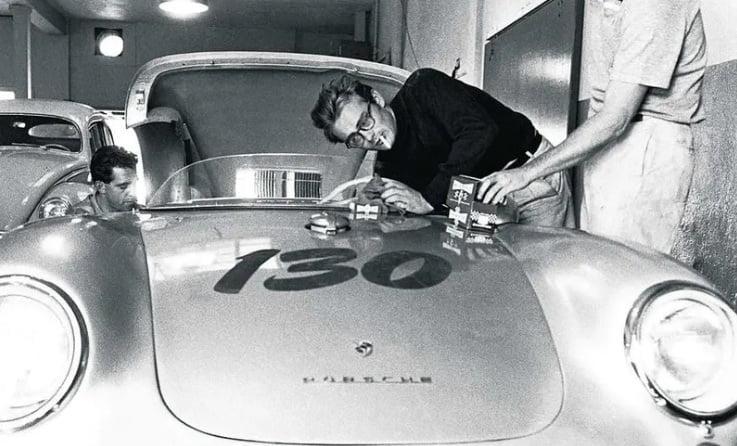 James Dean – un pasionat al curselor auto