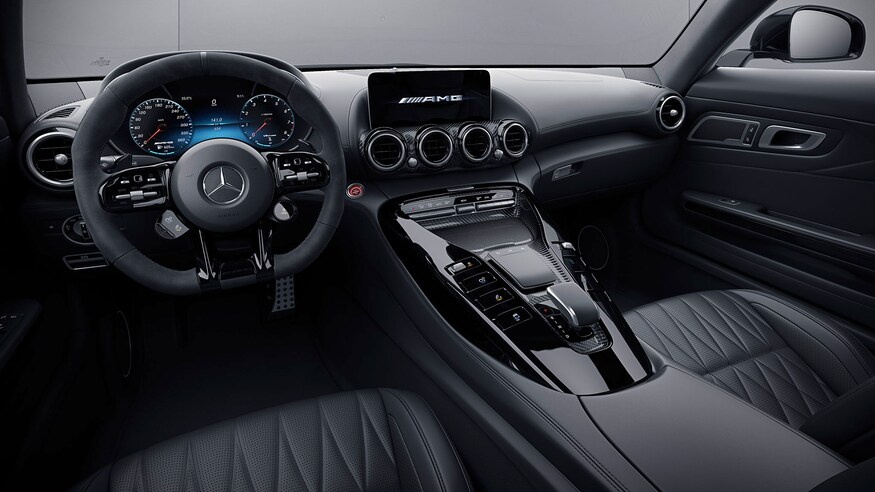Mercedes-AMG GT 2021 are Sprint 0-100 km/h in numai 3,7 secunde