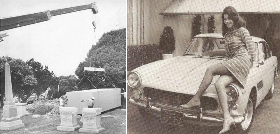 Sandra West, milionara înmormântată într-un Ferrari 330
