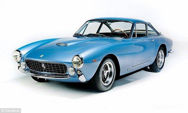Sandra West, detinatoarea unui Ferrari 330 America s/n 5055 din 1964