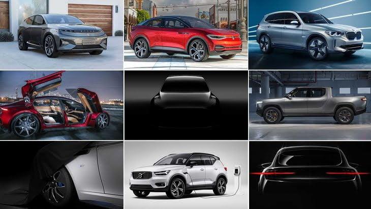 Top 10 Mașini Electrice ce vor apărea în 2021