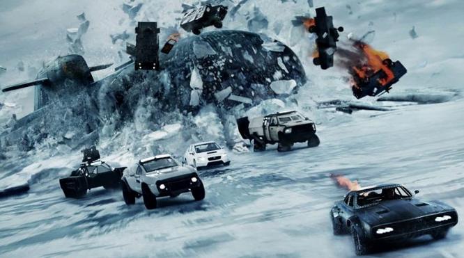Fast and Furios 8 filmat in Islanda