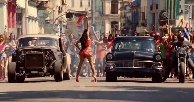Fast and Furios 8 filmat in Cuba