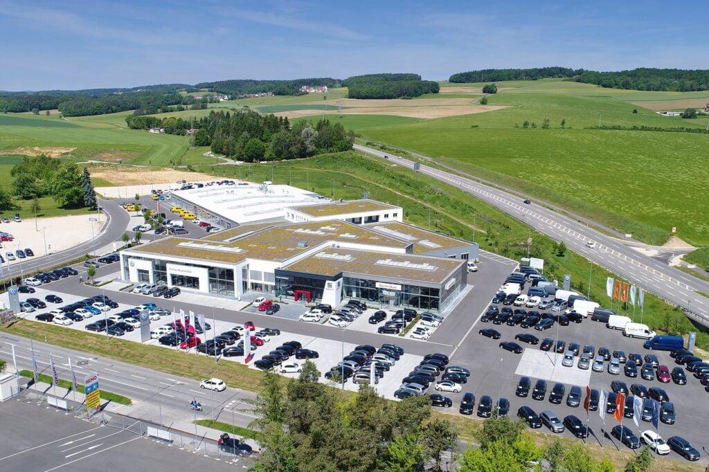 Top 10 parcuri auto second hand din Germania
