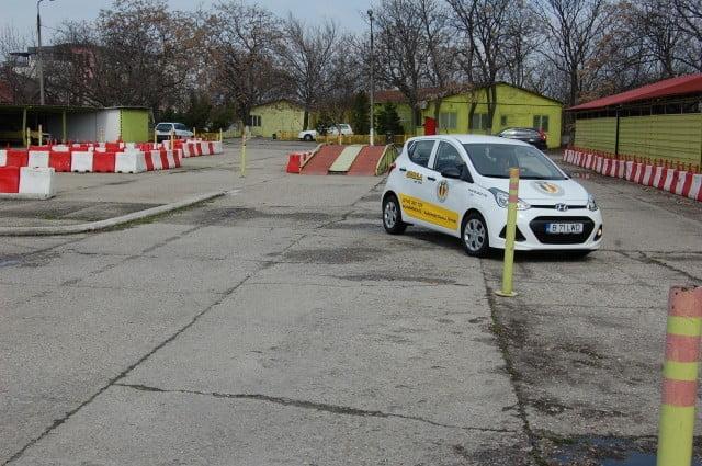 Ce poligoane auto mai există în București